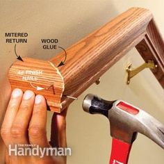 Best Hardwood Handrail Profiles Are Available In Any Wood Species Custom Wood Handrails Are Our 400 x 300