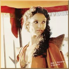 The beautiful Ellaria Sand (Indira Varma)