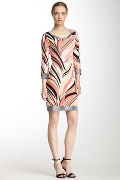 Print Scoop Neck Dress by Calvin Klein on @HauteLook