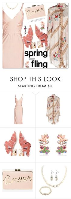 """Spring Fling"" by ansev ❤ liked on Polyvore featuring Jeffrey Campbell, BCBGMAXAZRIA and H&M"