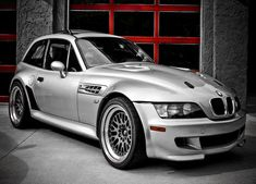 Silver BMW MCoupe Car  Fine Art Print or by EyeShutterToThink, $18.00