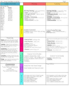 lesson plan template classroom freebies pinterest lesson plan