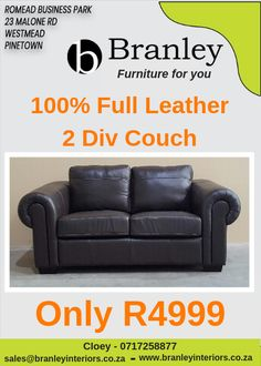 Wholesale furniture in Durban, South Africa. Branley offers quality and affordable leather and fabric couches, lounge suites, armchairs, ottomans and more. Furniture For You, Quality Furniture, Lounge Suites, Wholesale Furniture, Couch, Interiors, Leather, Home Decor, Sofa