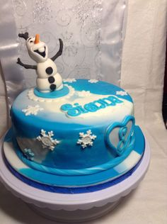 Frozen charity cake