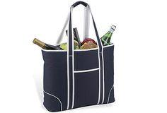 Insulated Tote Bag, Navy on OneKingsLane.com