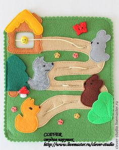 Quiet Book Patterns, Felt Crafts, Kids And Parenting, Clever, Kids Rugs, Activities, Christmas Ornaments, Holiday Decor, Quiet Books