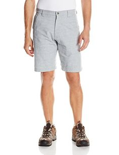 da0ef176c4fe Mountain Khakis Mens Boardwalk Plaid Short Relaxed Fit Ash 40W12Inch   More  info could be found