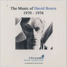 David Bowie - The Music Of David Bowie 1970-1976 (US ,CD-R promo)