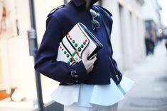 Street Style en Paris Fashion Week especial complementos
