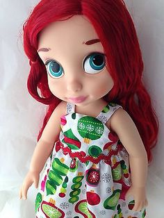 New Disney Animator Toddler Ariel Doll with Clothes Lot | eBay