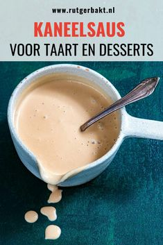 Dutch Recipes, Sweet Recipes, Cooking Recipes, Flavored Butter, Dessert Cake Recipes, Cake Fillings, Sweet Sauce, Pastry Cake, Beignets