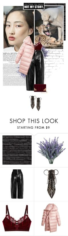 """""""not my story."""" by eve-angermayer ❤ liked on Polyvore featuring WALL, MSGM, Sophia Webster, Intimately Free People, Marques'Almeida and La Regale"""