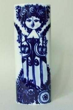 Vintage Rosenthal Vase by Bjorn Wiinblad