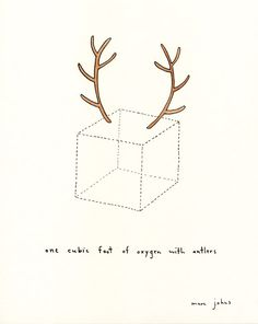 Because everything looks better with antlers.