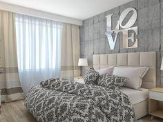 Dormitorios de estilo minimalista por архитектор-дизайнер Алтоцкий Михаил (Altotskiy Mikhail)