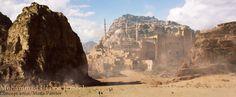 Desert city, Usama Jameel on ArtStation at http://www.artstation.com/artwork/desert-city-3b312575-4789-4507-8f84-f78bbee6e4e7