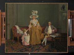 The Saithwaite Family  Francis Wheatley (English, London 1747–1801 London)  Date: ca. 1785
