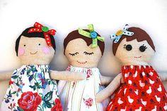 Handmade Dolls - Leah Halliday from NotontheHighStreet