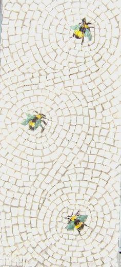 Petrified Bee Panel