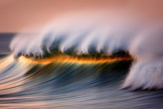 David Orias Makes the Pacific Ocean Look like Rainbows and Gold