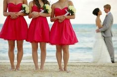 uhm. on we heart it / visual bookmark #24422933 (wedding,bridesmaids,beautiful)