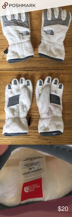 Women's Northface gloves These gloves are in perfect condition and match the jacket I have for sale on my site. The North Face Accessories Gloves & Mittens