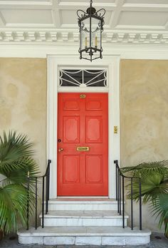 Branford-Horry House Door - Charleston, South Carolinia