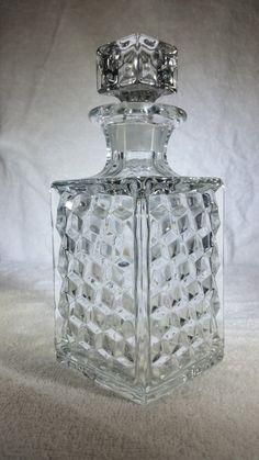 Vintage Fostoria Perfume Bottle Liquor by KetlingrDecorAndMore