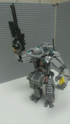 Geek Art Gallery: Lego Creation: Titanfall Mech