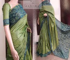 Code:2806170 - Price INR:10890/- , Tussar Silk Cutwork saree.
