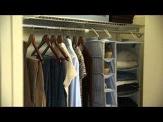 #Bedroom Closet Organization Tips by Debbie Travis