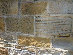 19th century Sydney sandstone wall