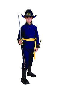 Union Officer Child Costume Civil War Soldier Kids Boy Uniform SM Med LG 90092 | eBay