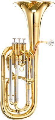 B-Stock, Thomann BR603 Bb Baritone Horn - 3 valves, 12.8mm bore, goldbrass leadpipe, brass body, nickel silver outer thomann slides