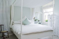 Pavilion Blue relaxing bedroom