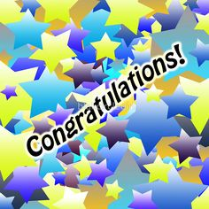 Congratulation Stars #sticker #redbubble