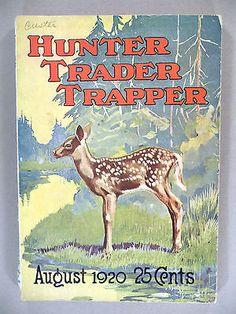 Hunter Trader Trapper August 1920 | eBay