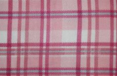 Pink and Blue Plaid Fleece