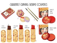 @besamecosmetics #besamecosmetics  #vintagecosmetics #vintagemakeup I adore them all #vintage #makeup just too beautiful  I love  beautiful things. Don't you?