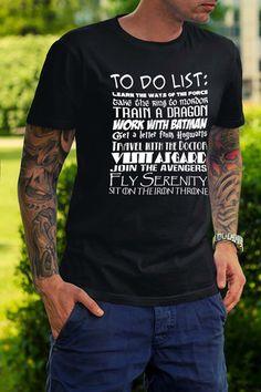 Fandom To Do List T-Shirt