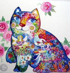 FAIRY CAT by oxana zaika | ArtWanted.com