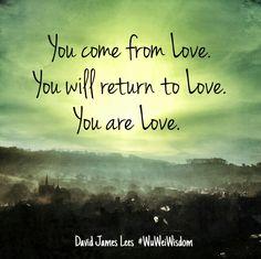 You Are Love ༺❁༻ WILD WOMAN SISTERHOOD™ #wildwomansisterhood #love #compassion
