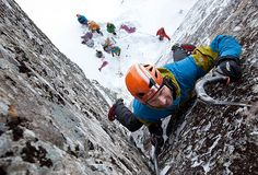 Ice climbing in Ben Nevis by Petzl sport,