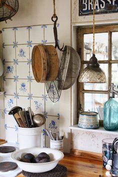 """K&Co. Antiques´s blog.: Sommerhus indretning med """"Franske Forbindelser"""""""
