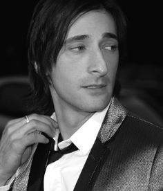 Adrien Brody....yes...whatever you say i'll do...