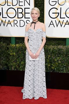 Michelle Williams in a Louis Vuitton gown