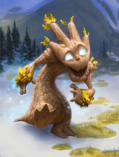 Sapling - Card - Hearthstone. (c) Blizzard Entertainment. Remind anyone of a certain sentient tree? :-)