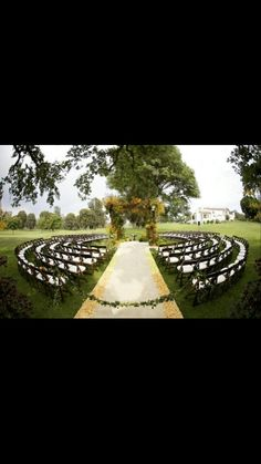 Outdoor wedding #wedding #outdoorwedding ☀ ☀ PIN it to WIN it ☀ ☀ CLICK HERE for details==> https://sites.google.com/site/trophywifeaprons