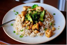 Kung Pao Chicken for Two.