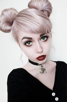 Pastel Goth Makeup/Hair Tutorial